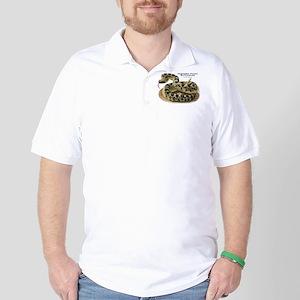 Northern Pacific Rattlesnake Golf Shirt