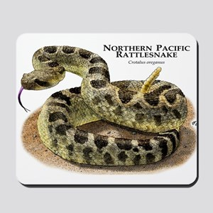 Northern Pacific Rattlesnake Mousepad