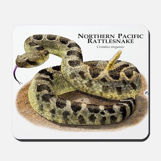 Northern Pacific Rattlesnake Mousepad