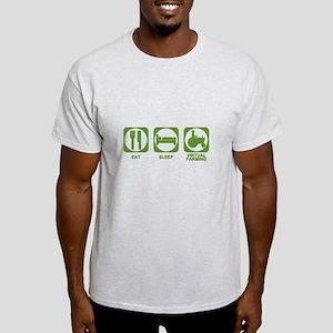 Eat Sleep Virtual Farming Light T-Shirt