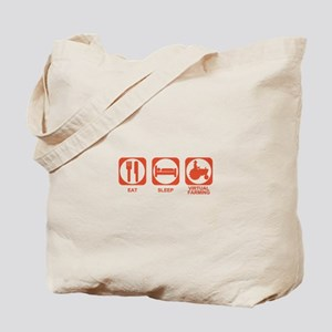 Eat Sleep Virtual Farming Tote Bag
