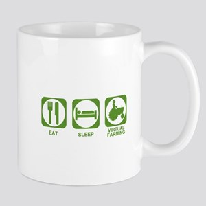 Eat Sleep Virtual Farming Mug