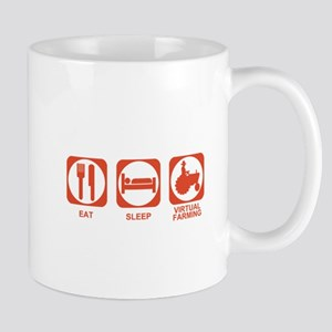 Eat Sleep Virtual Farming Mug
