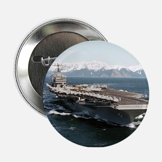 "USS Abraham Lincoln Ship's Image 2.25"" Button"