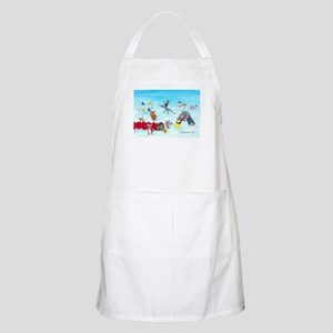 Waiting For The Thaw BBQ Apron