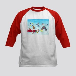 Waiting For The Thaw Kids Baseball Jersey