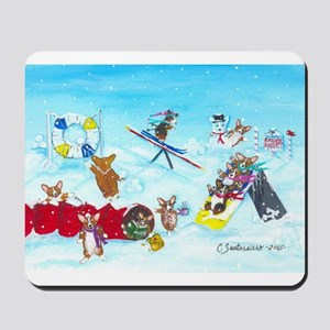 Waiting For The Thaw Mousepad