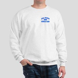 Real Women Drive Muscle Cars III Sweatshirt