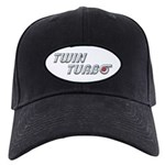 Twin Turbo Black Cap