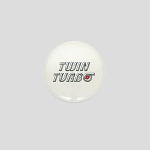 Twin Turbos Mini Button
