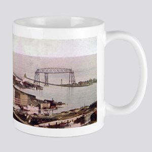 1905 Duluth Harbor and Aerial Mug