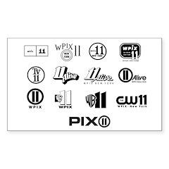 All Retro Logos: Rectangle Decal