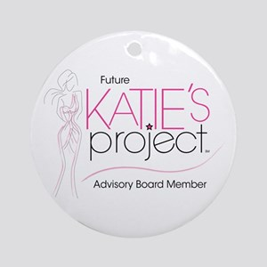 Katie's Project Ornament (Round)