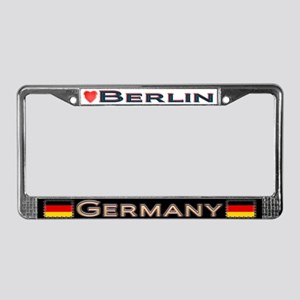 Berlin, GERMANY - License Plate Frame