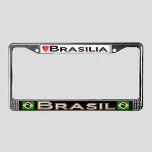 Brasilia, BRASIL - License Plate Frame