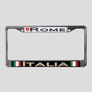 Rome, ITALIA - License Plate Frame