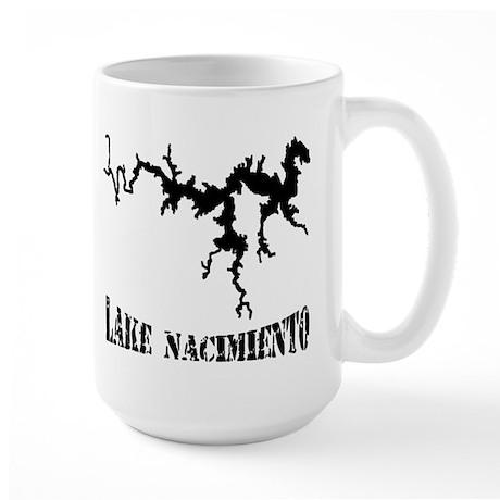 NACI (823 BLACK) Large Mug