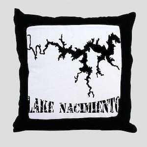 NACI (823 BLACK) Throw Pillow