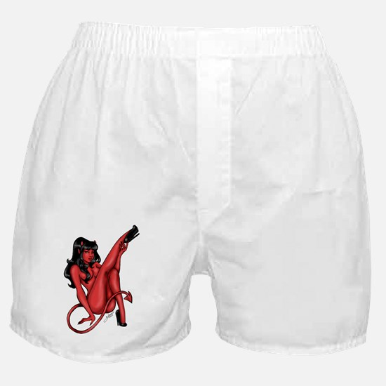 She Devil Nude Pinup Boxer Shorts
