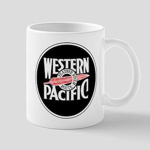 Round Western Pacific logo Mugs