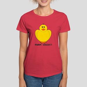 Farm Chick Women's Dark T-Shirt