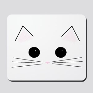 Kitty Face Mousepad
