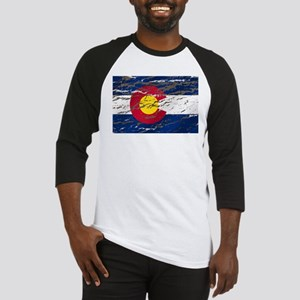 Colorado Vintage Flag Baseball Jersey