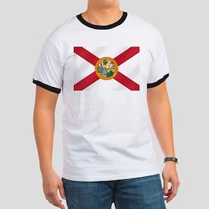 State Flag of Florida Ringer T