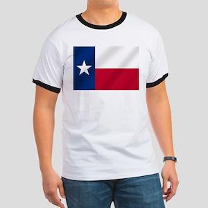 Flag of Texas Ringer T