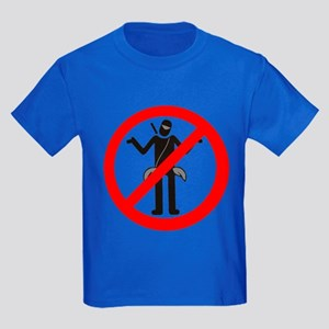 No Dojo-Bums! Kids Dark T-Shirt