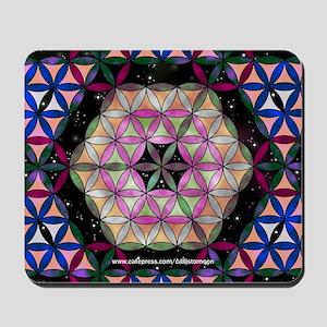 Metatron's Cube Mousepad