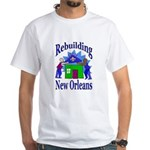 Rebuilding New Orleans White T-Shirt
