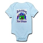 Rebuilding New Orleans Infant Creeper