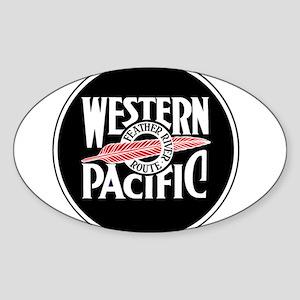 Round Western Pacific logo Sticker