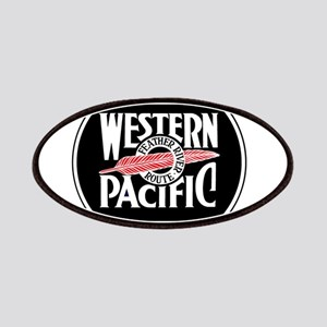 Round Western Pacific logo Patch
