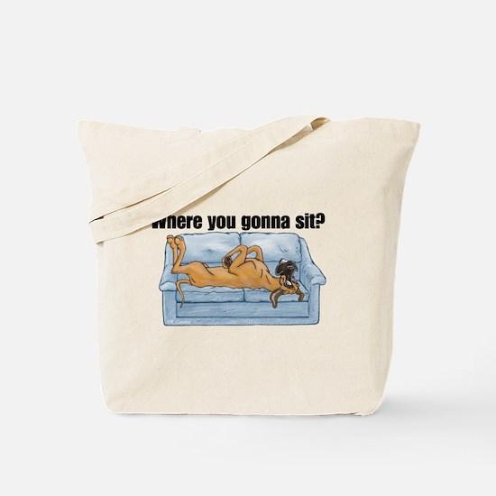 NF Where RU Tote Bag
