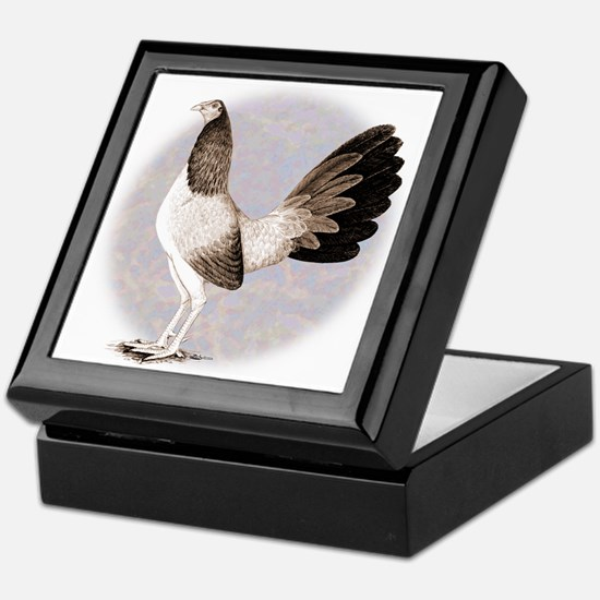 Henny Gamecock Keepsake Box