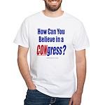 CONgress White T-Shirt