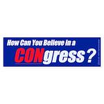 CONgress Bumper Sticker (50 pk)