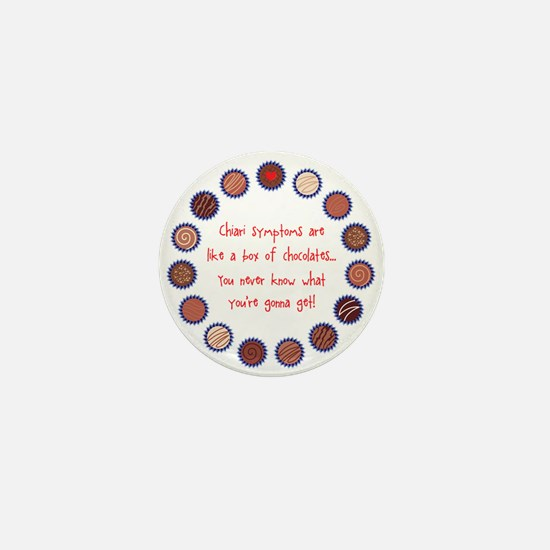Cute Arnold chiari malformation Mini Button