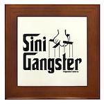 Sini-Gangster Framed Tile