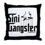 Sini-Gangster Throw Pillow