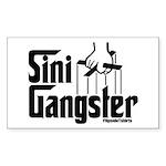 Sini-Gangster Rectangle Sticker