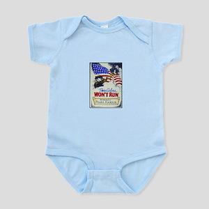 These Colors Won't Run Infant Bodysuit