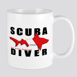 Scuba Diver: SHARK Mug