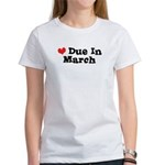 Due in March Women's T-Shirt