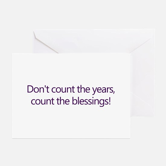 Count the Blessings Greeting Cards (Pk of 10)