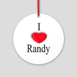 Randy Ornament (Round)