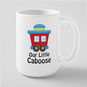 Our Little Caboose Large Mug
