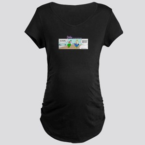 First day of winter Maternity T-Shirt